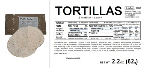 MRE Tortillas