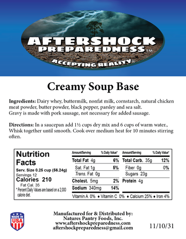 Creamy Soup Base