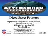 Diced Sweet Potatoes