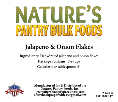 Jalapeno & Onion Flakes