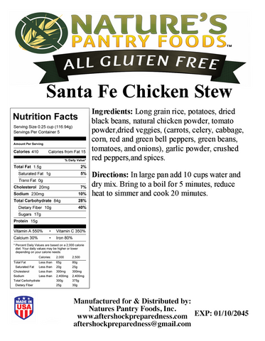 Santa Fe Chicken Stew