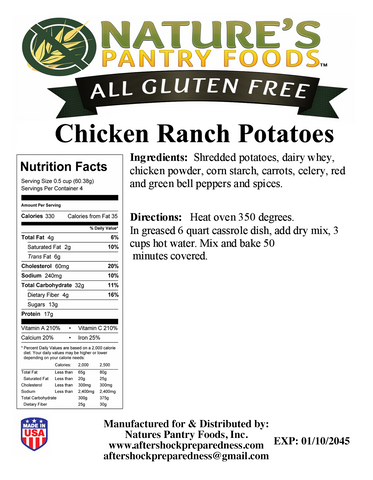 Chicken Ranch Potatoes
