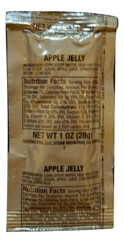 MRE Apple Jelly