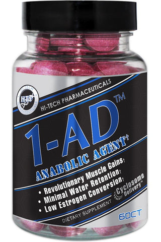 Hi-Tech Pharmaceuticals: 1-AD (60 Tabs), vitamins, supplements - molecularevolutions