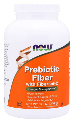 NOW Foods: Prebiotic Fiber w/Fibersol - 2 Powder (12 oz), vitamins, supplements - molecularevolutions.