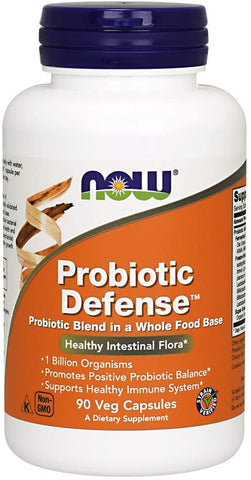 NOW Foods: Probiotic Defense (90 Veg. Caps), vitamins, supplements - molecularevolutions