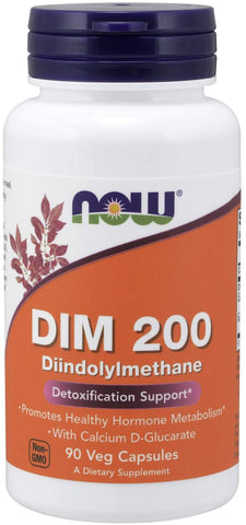NOW Foods: DIM 200 (90 Capsules), vitamins, supplements - molecularevolutions