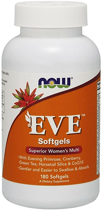 NOW Foods: Eve Women's Multi (180 Softgels), vitamins, supplements - molecularevolutions