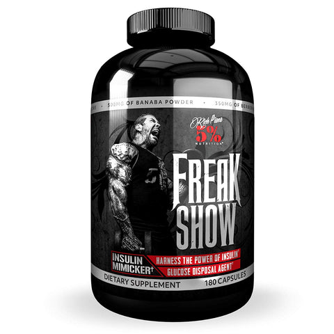 5% Nutrition: Freak Show, vitamins, supplements - molecularevolutions
