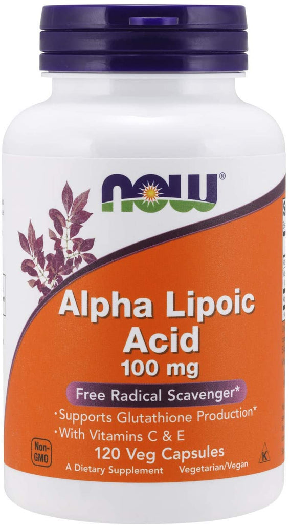 NOW Foods: Alpha Lipoic Acid 100mg (120 Veg. Caps)