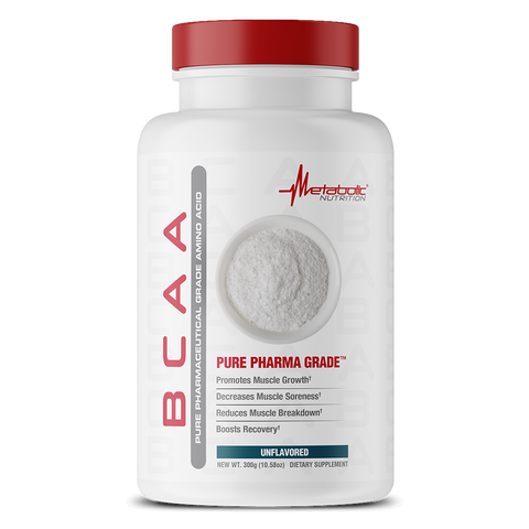 Metabolic Nutrition: Pure Pharma Grade BCAA (300g), vitamins, supplements - molecularevolutions