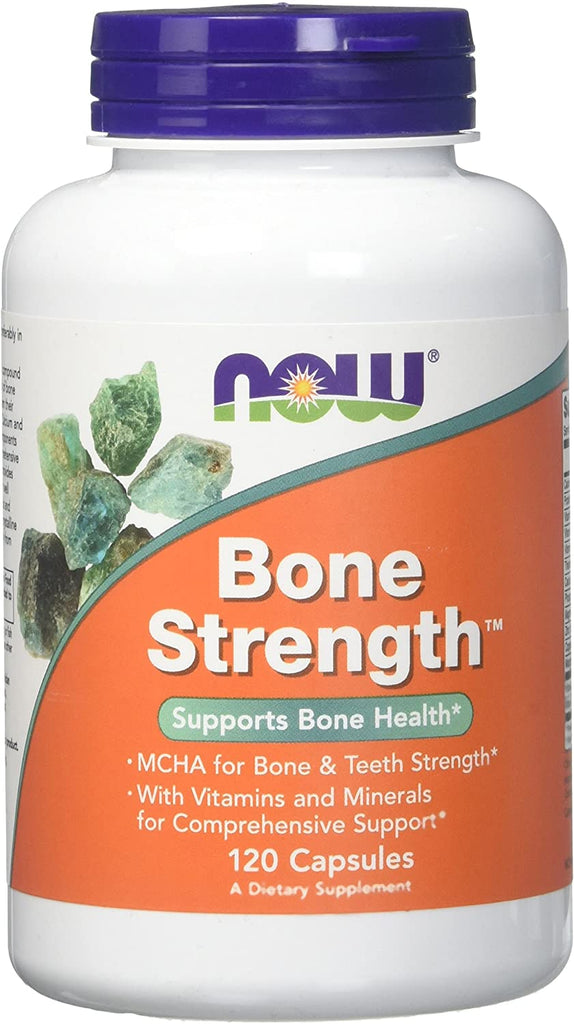NOW Foods: Bone Strength (120 Capsules), vitamins, supplements - molecularevolutions.