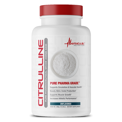 Metabolic Nutrition: Pure Pharma Grade Citrulline (300g), vitamins, supplements - molecularevolutions
