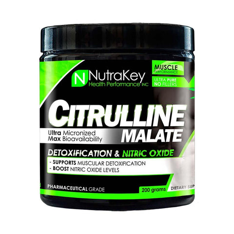 Nutrakey: Citrulline Malate (Unflavored Powder), vitamins, supplements - molecularevolutions