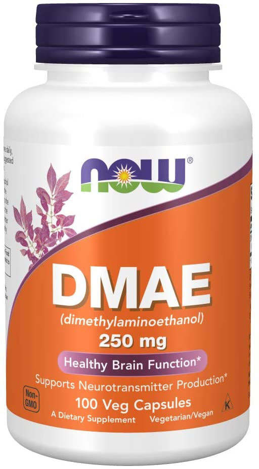 NOW Foods: DMAE 250mg (100 Veg. Caps), vitamins, supplements - molecularevolutions.