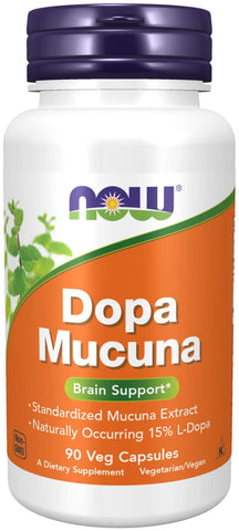NOW Foods: Dopa Mucuna (90 Veg. Caps), vitamins, supplements - molecularevolutions.