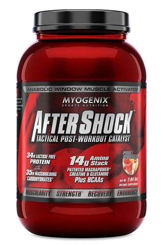 Myogenix: Aftershock Post-Workout, vitamins, supplements - molecularevolutions