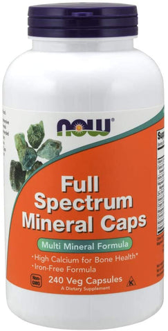 NOW Foods: Full Spectrum Minerals, vitamins, supplements - molecularevolutions.