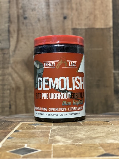 Frenzy Labz: Demolish, vitamins, supplements - molecularevolutions