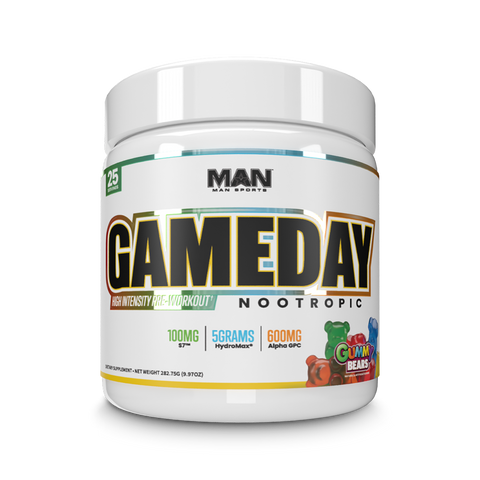 MAN Sports: Game Day Nootropic Pre-workout