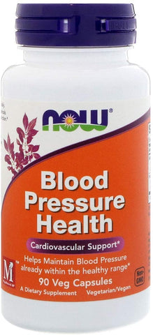 NOW Foods: Blood Pressure Health (90 Veg. Caps), vitamins, supplements - molecularevolutions.