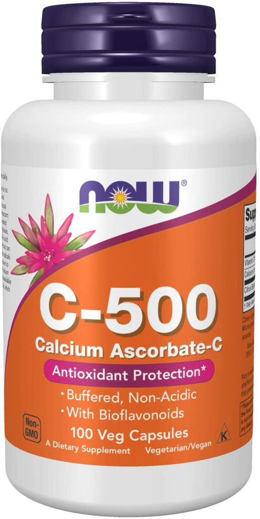 NOW Foods: C-500 Calcium Ascorbate-C (100 Caps)