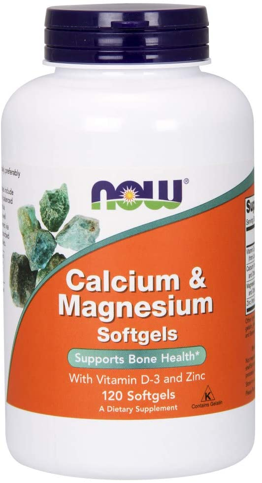 NOW Foods: Calcium & Magnesium (120 Softgels), vitamins, supplements - molecularevolutions.