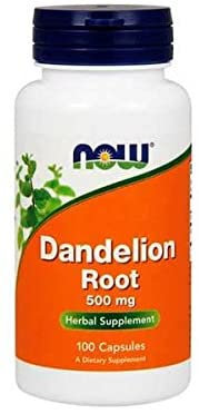 NOW Foods: Dandelion Root: 500mg (100 Veg. Caps), vitamins, supplements - molecularevolutions.