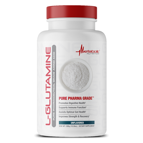 Metabolic Nutrition: Pure Pharma Grade L-Glutamine (300g), vitamins, supplements - molecularevolutions
