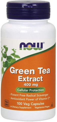 NOW Foods: Green Tea Extract: 400mg (100 Veg. Caps), vitamins, supplements - molecularevolutions.