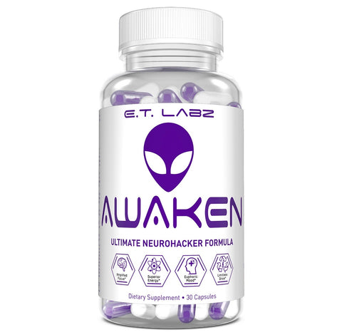 E.T. Labz: Awaken, vitamins, supplements - molecularevolutions
