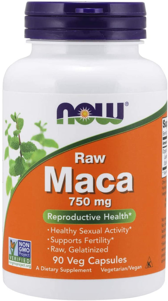 NOW Foods: Maca 750mg (90 Capsules), vitamins, supplements - molecularevolutions