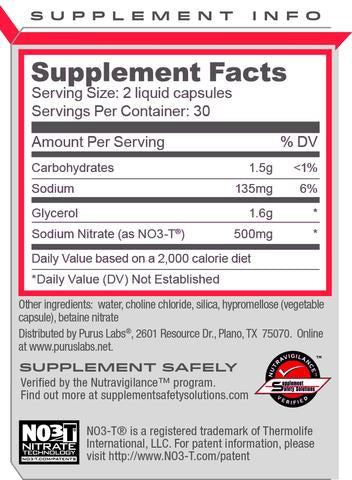 Purus Labs: Noxygen (Softgels), vitamins, supplements - molecularevolutions
