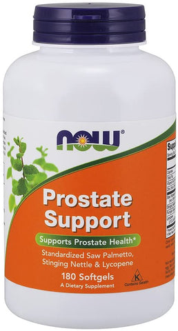 NOW Foods: Prostate Support (180 Softgels), vitamins, supplements - molecularevolutions.