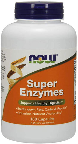 NOW Foods: Super Enzymes, vitamins, supplements - molecularevolutions.