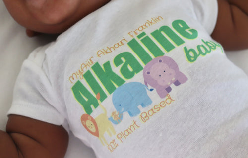 Customized Alkaline Baby Onesie