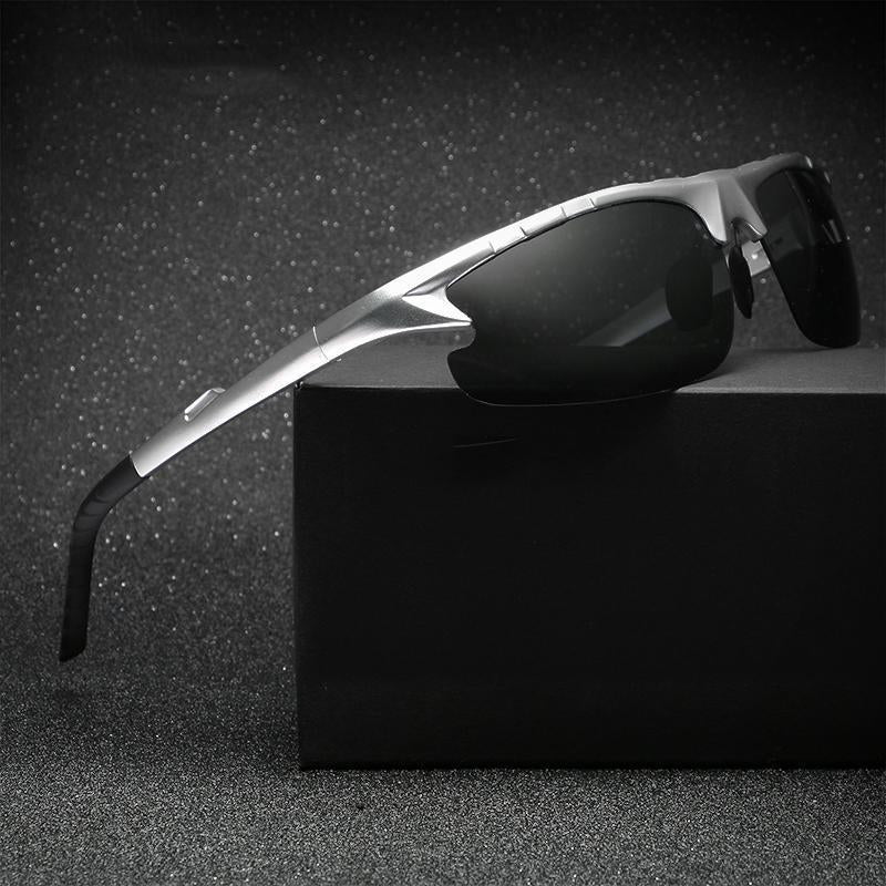 Aluminum Polarized Fashion Vintage Pilot Sun Glasses herhershoes
