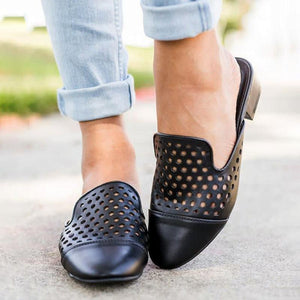 Women Casual Mule Sandals Shoes herhershoes