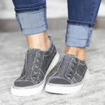 Casual Canvas Slip-on Sneakers herhershoes