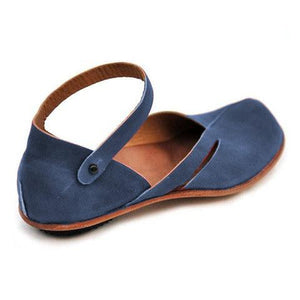 Large Size Spring/Fall Women Casual PU Leather Sandals herhershoes