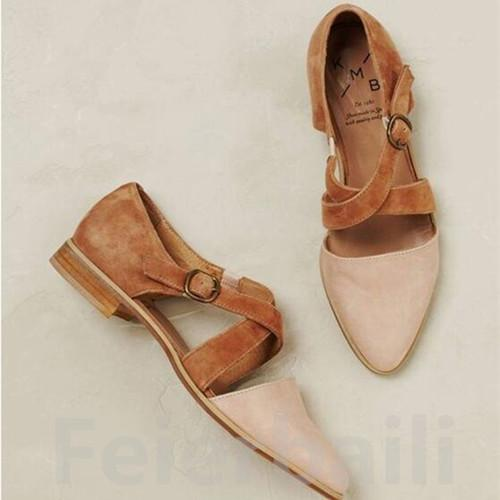 Women Summer Spring Casual Flat Shoes herhershoes