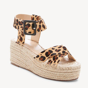Womens Pu Casual Summer Wedge Heel Sandals herhershoes