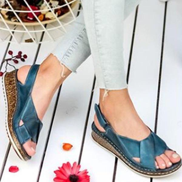 Women Open Toe Summer Sandals herhershoes