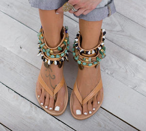 Greek Style Summer Women Sandals herhershoes