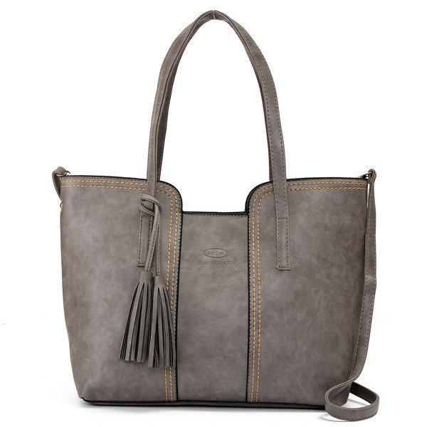 Vintage Tassel Casual Handbag Retro Leisure Shoulder Bag herhershoes