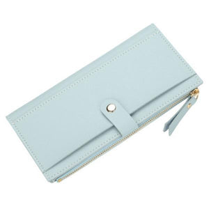 Baellerry Women Multi-slots Elegant Long Wallet Card Holder Purse herhershoes