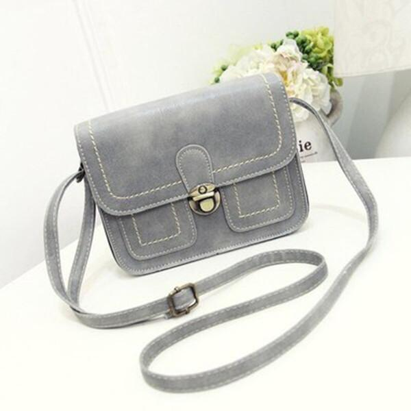 Stylish PU Leather 6.5inch Phone Bag Crossbody Bag Shoulder Bag herhershoes