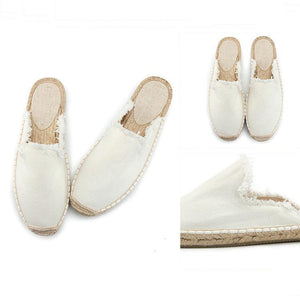 Casual Pure Color Holes Flat Sandals herhershoes