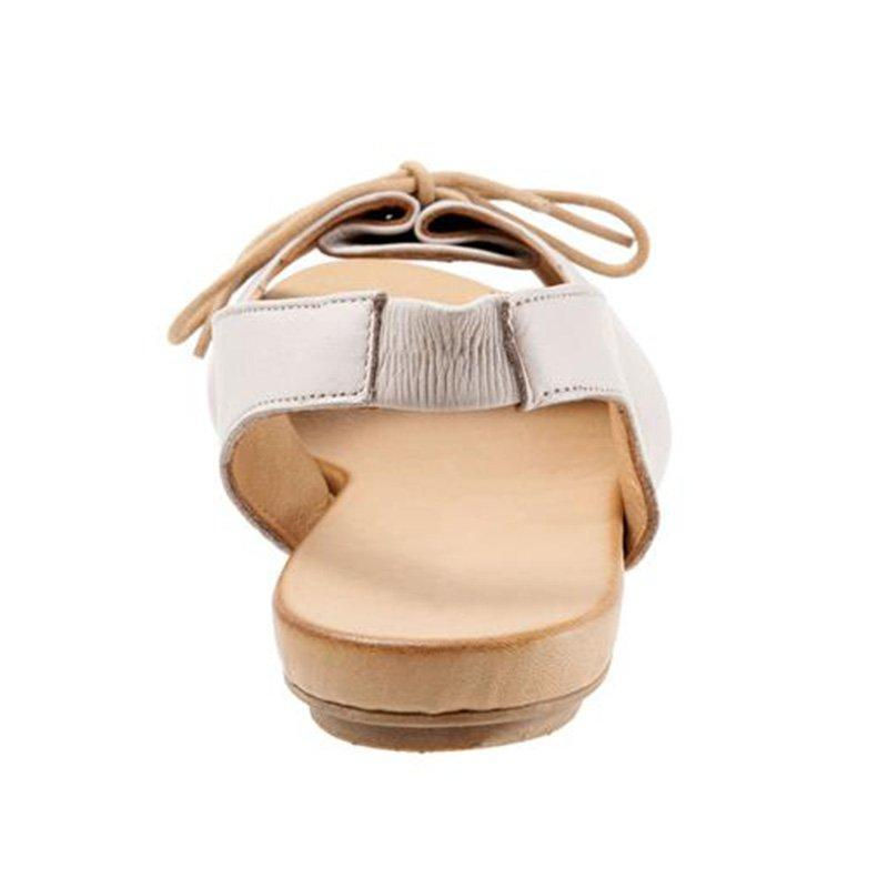 Women's Summer Elastic Band Lace-Up Peep Toe Sandals herhershoes