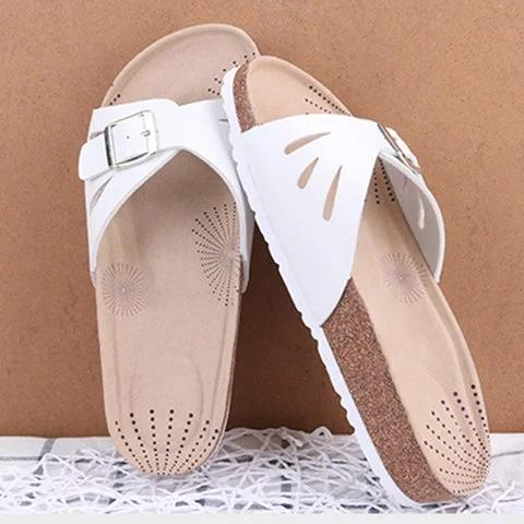 Women Flat Heel Hollow-Out Slippers herhershoes